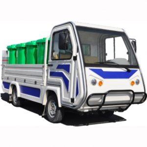 Электромобиль для мусорных контейнеров TMK