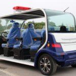 Электромобиль полицейский 6ти-местный ElectroEco