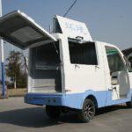 Электрокар мусоровоз GT61