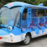 ЭлектроАвтобус катать детей
